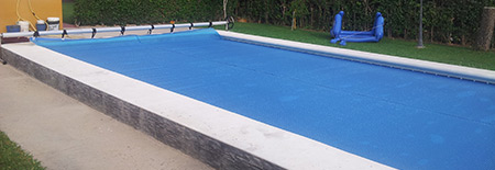 Fabricacion e instalacion de lonas de piscinas en madrid for Fabricacion de piscinas